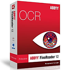 ABBYY FineReader 12 Professional Edition Upgrade