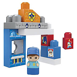 Mega Bloks Police Station Building Blocks