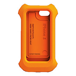 Lifeproof Lifejacket Floating Case Exterior For Iphone 5 5s Orange By Office Depot Officemax