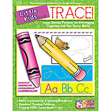 Scholastic Little Kids Trace