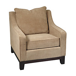 Office Star Ave Six Fabric Regent Chair Easy Brownstone By