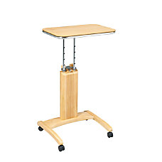 OSP Designs Precision Adjustable Height Wood