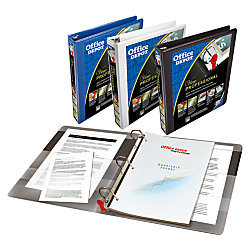 Office depot brand professional series binder 3 rings for Depot ringcenter