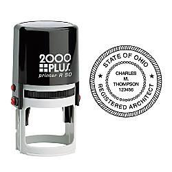 2000 PLUS R50 Self Inking Round