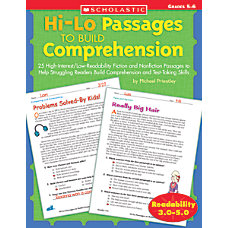 Scholastic Hi Lo Passages To Build