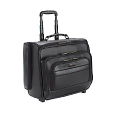 US Luggage Dual Entry Lthr Rolling