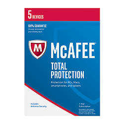McAfee Total Protection 2017 For 5