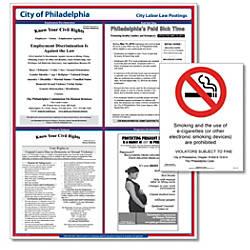 ComplyRight City Poster Bundle English Philadelphia