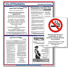 ComplyRight City Poster Bundle English Philadelphia