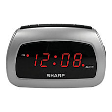 Sharp Battery Backup Electric Powered Digital