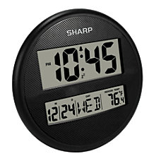 Sharp Wall And Table Clock 9