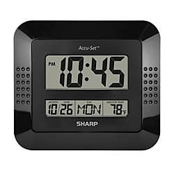 wall clocks at office depot officemax