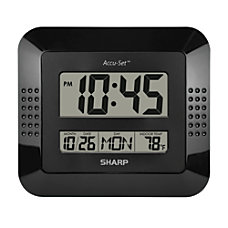 MZ Berger Digital Wall Clock And