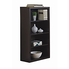 Monarch 3 Shelf Bookcase 48 H