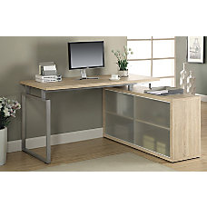Monarch Specialties L Shaped Desk With