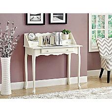 Monarch Specialties Wood Secretary Desk Antique