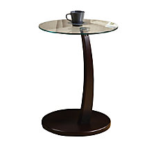 Monarch Bentwood Accent Table Round 23