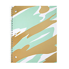 Divoga Gold Struck Notebook 8 12