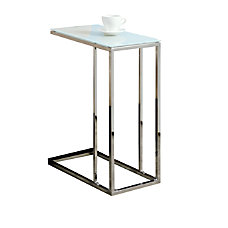 Monarch Specialties Accent Table With Tempered