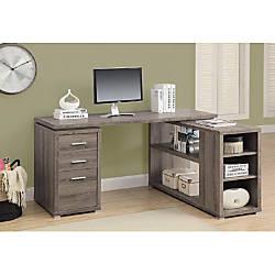 Monarch Specialties LeftRight Facing Corner Desk