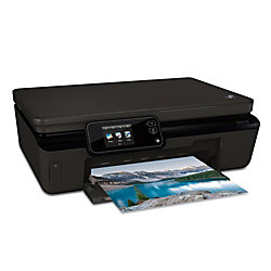 hp photosmart 5520 e all in one inkjet printer copier scanner by office depot officemax. Black Bedroom Furniture Sets. Home Design Ideas