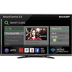 "Sharp AQUOS LC-80UQ17U 80"" 3D 1080p LED-LCD TV - 16:9 - HDTV 1080p - 240 Hz"