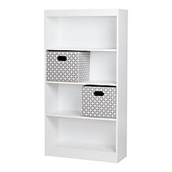 South Shore Axess 4 Shelf Bookcase