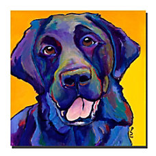 Trademark Global Buddy Gallery Wrapped Canvas