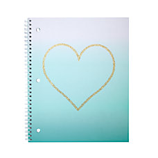 Divoga Heart Notebook 8 x 10