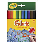 Crayola Fabric Markers Pack Of 10
