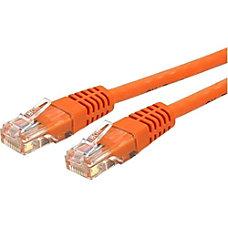 StarTechcom 6 ft Cat 6 Orange