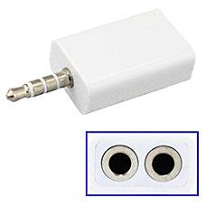 4XEM 35mm Mini Jack Headphone Splitter
