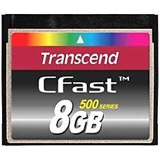 Transcend TS8GCFX500 8 GB CFast Card