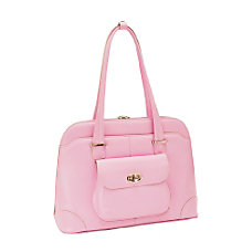 McKleinUSA Avon Leather Ladies Briefcase Pink