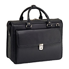 McKleinUSA Gresham Leather Briefcase Black