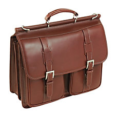 Siamod Signorini Leather Laptop Case For