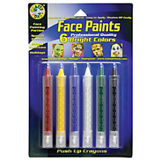 Crafty Dab Push Up Face Paints