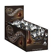 Lindt Lindor 60percent Extra Dark Chocolate