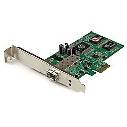 StarTechcom PCI Express Gigabit Ethernet Fiber