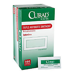 Curad Triple Antibiotic Ointment Packets 030
