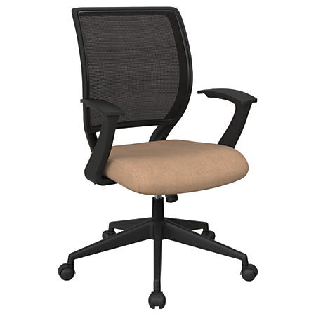 Office Star Work Smart Mesh Task Chair AngoraBlack By Office Depot Offi