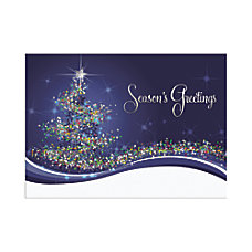 Personalized Holiday Cards With Envelopes Wrapped