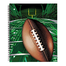 Office Depot Brand Sports Notebook Football