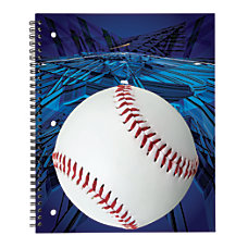 Office Depot Brand Sports Notebook Baseball