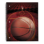 Office Depot Brand Sports Notebook Basketball