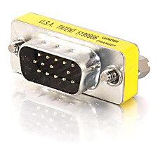 C2G HD15 VGA MM Mini Gender