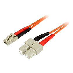 StarTechcom 2m Fiber Optic Cable Multimode