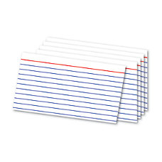 Office Depot Brand Index Cards And