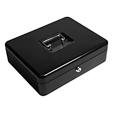 Barska 12 Key Lock Cash Box