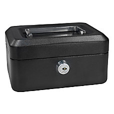 Barska 6 Key Lock Cash Box